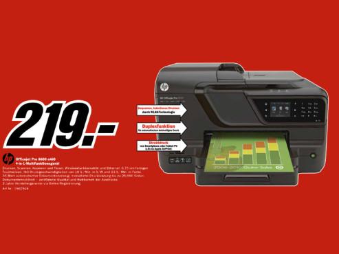 Hewlett-Packard HP Officejet Pro 8600 N911a ©Media Markt