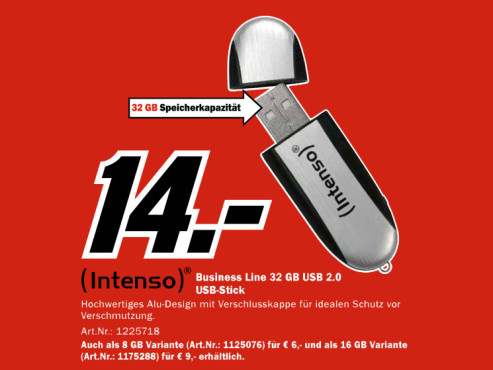 Intenso Business Line 32GB © Media Markt