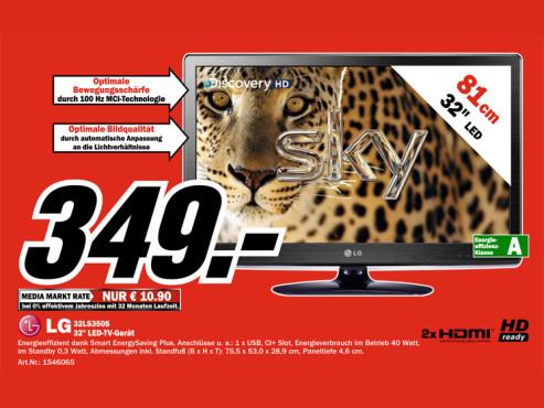 LG 32LS350S ©Media Markt