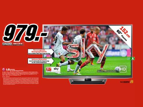 LG 60PA6500 ©Media Markt