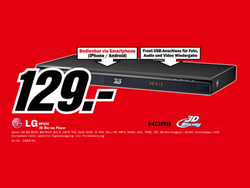 LG BP 620 ©Media Markt