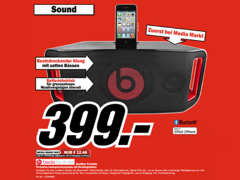 Monster BeatBox Portable © Media Markt