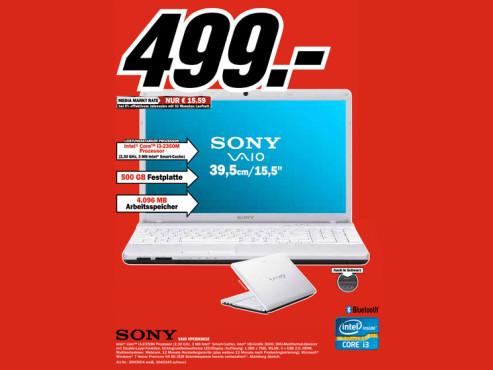 Sony Vaio VPCEH3H1E ©Media Markt