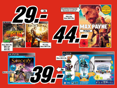 Videospiele ©Media Markt