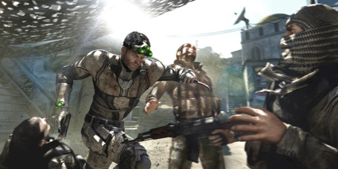 Actionspiel Splinter Cell – Blacklist: Messer © Ubisoft