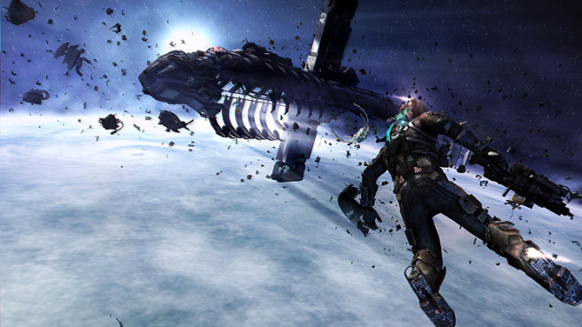 Actionspiel Dead Space 3: Weltraum © Electronic Arts