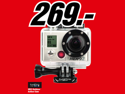 GoPro HD2 Outdoor © Media Markt