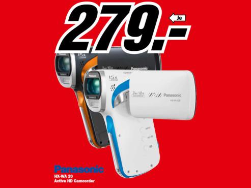 Panasonic HX-WA20 ©Media Markt