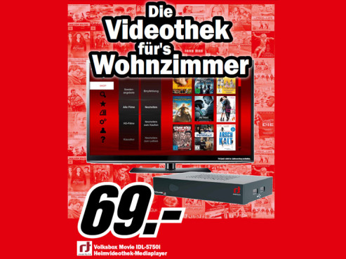 Volksbox Movie IDL-5750i © Media Markt