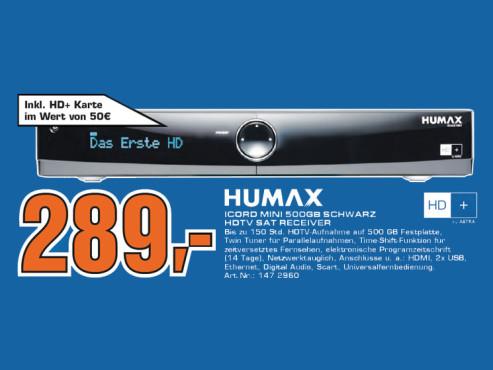 Humax iCord Mini ©Saturn