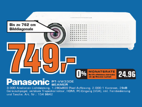 Panasonic PT-VW330E © Saturn