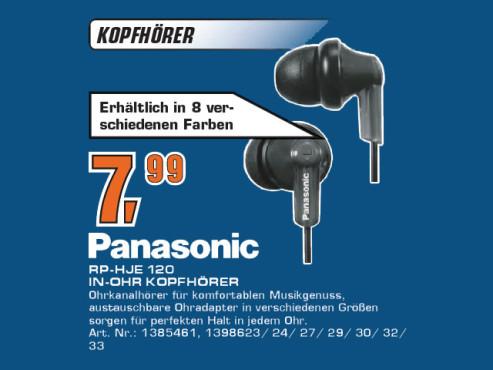 Panasonic RP-HJE120 ©Saturn