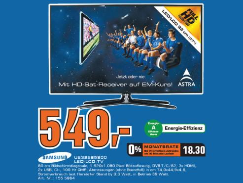 Samsung UE-32ES5800 ©Saturn