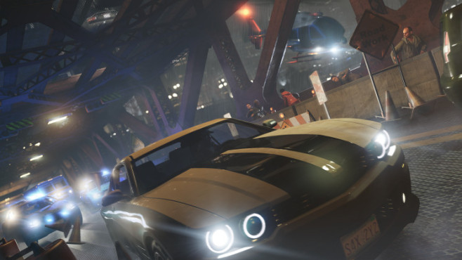 Actionspiel Watch Dogs: Verfolgungsjagd © Ubisoft