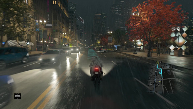 Actionspiel Watch Dogs: Wetter © Ubisoft