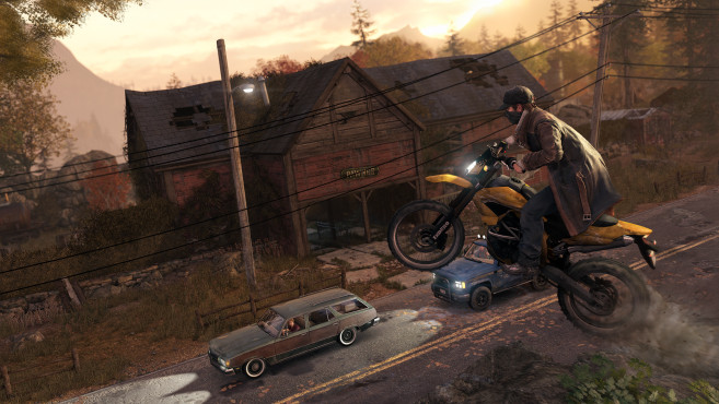 Actionspiel Watch Dogs: Wheelie © Ubisoft
