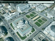 Google-Earth-Aufnahme in 3D&nbsp;&copy;&nbsp;COMPUTER BILD