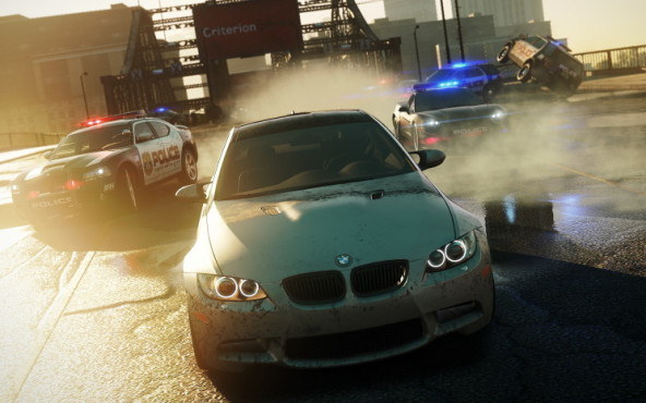 Rennspiel NfS – Most Wanted: Aquaplaning © Electronic Arts