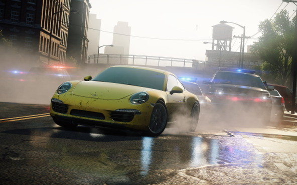 Rennspiel NfS – Most Wanted: Asphalt © Electronic Arts