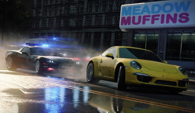 Rennspiel NfS – Most Wanted: Muffins © Electronic Arts