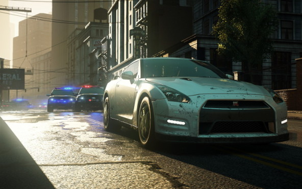 Rennspiel NfS – Most Wanted: Polizei © Electronic Arts