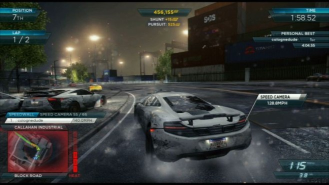 Rennspiel NfS – Most Wanted: Speed Kamera © Electronic Arts