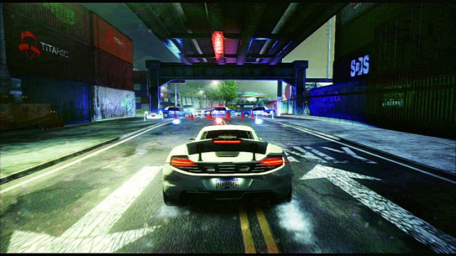Rennspiel NfS – Most Wanted: Spoiler © Electronic Arts