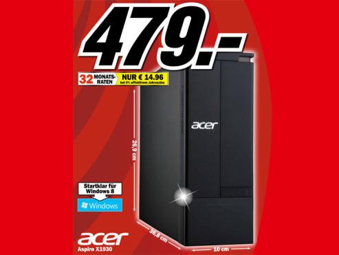 Acer Aspire X1930 ©Media Markt