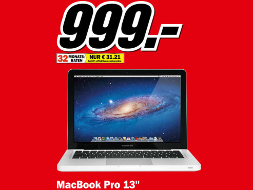 "Apple MacBook Pro 13"" (MD313D/A) © Media Markt"