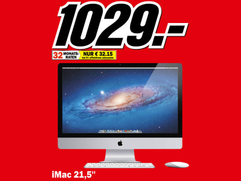 "Apple iMac 21,5"" (MC309) © Media Markt"