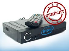 Intel Set-Top-Box ©Stempel: WoGI - Fotolia.com, Box: ksena32@ukrpost.ua - Fotolia.com, Intel, Montage: COMPUTER BILD