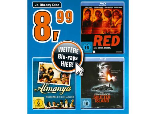 Blu-ray-Filme ©Saturn