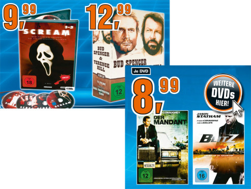 DVD-Filme ©Saturn
