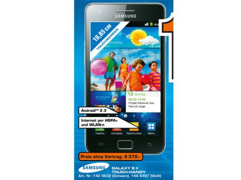Samsung Galaxy S2 ©Saturn