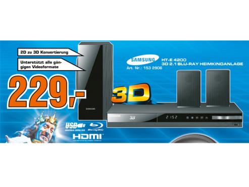 Samsung HT-E4200 ©Saturn