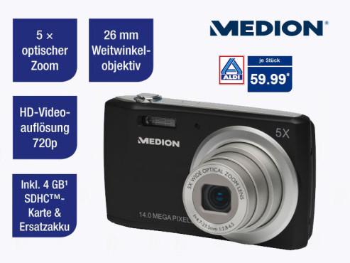 Medion Life P43040 (MD83830) Digitalkamera ©Aldi Nord