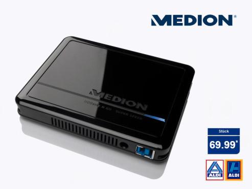 Medion P82724 (MD90183) Festplatte ©Aldi Nord