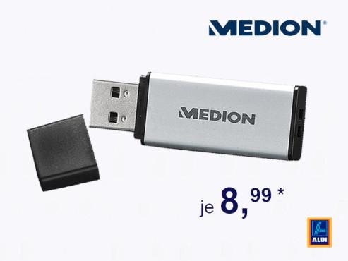 Medion P89032 USB-Stick ©Aldi Süd