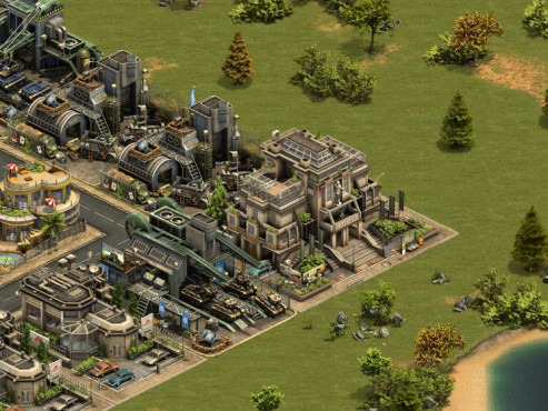 Forge of Empires: Postmoderne © InnoGames