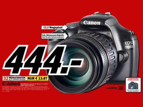 Canon EOS 1100D ©Media Markt