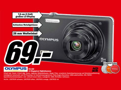Olympus VG-160 ©Media Markt