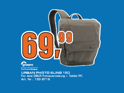 Lowepro Urban Photo Sling 150 © Saturn