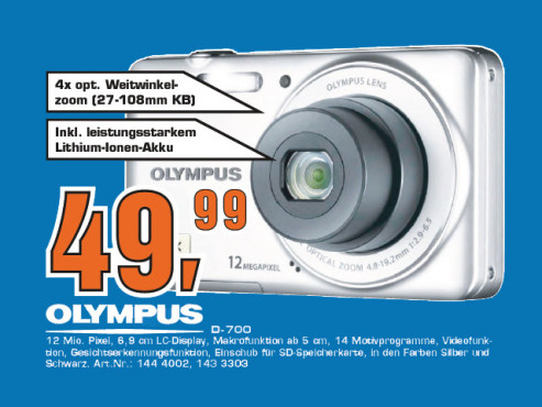 Olympus D700 ©Saturn