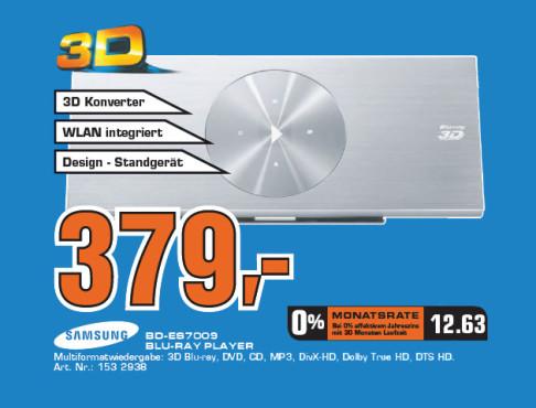 Samsung BD-ES7009 ©Saturn