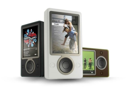 MP3-Player Zune © Microsoft