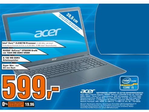 Acer Aspire V5-571G-52468G50MAkk ©Saturn