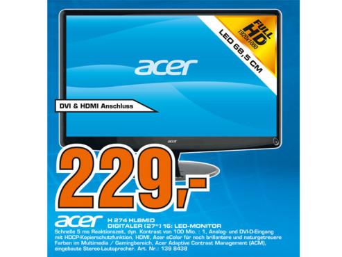 Acer H274HLbmid ©Saturn