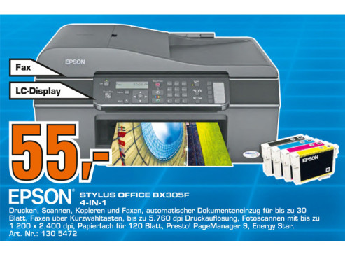 Epson Stylus Office BX305F © Saturn