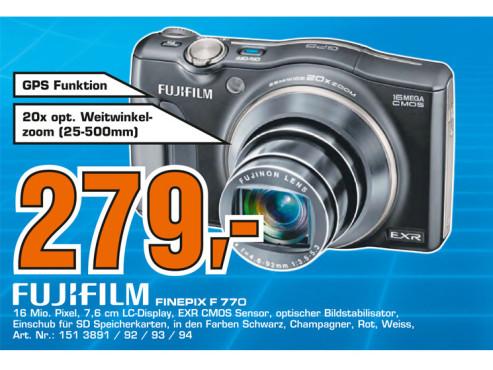 Fujifilm FinePix F770EXR ©Saturn