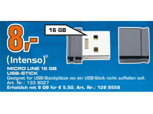Intenso Micro Line 16GB © Saturn